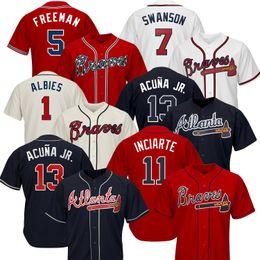 2b031472b11 Jones chipper online shopping - 2019 Men s Atlanta Braves Jersey baseball  Jerseys Ronald Acuna Jr