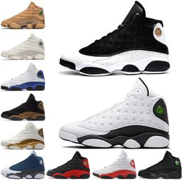 1a9abd8f0fe4 Cheap 13 13s Mens Basketball Shoes Phantom Chicago 3M GS Hyper Royal Black  Cat Flints Bred Brown Wheat men sneakers best