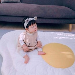 Children Hand Games Australia - Children Ins Egg New Style Crawling Mat Home Decoration Creative Soft Carpet Printing Simple Fashion The Game Blanket 48zlD1