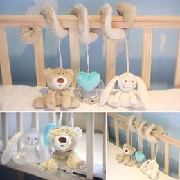 Best Baby Rattle Australia - Multifunctional Bed Hanging Bell Baby Toys Educational Rattles for Kids Best Gift Fashion Hanging Bell Baby Toys