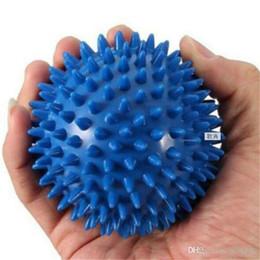 Roller Ball Massager Australia - Body Massager, Spiky Point Massage Ball Roller Reflexology Stress Relief for Palm Foot Arm Neck Back Body Health Care Tool 2019032706