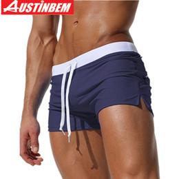 $enCountryForm.capitalKeyWord Australia - Austinbem Swimwear Men Swimming Trunks Buttock Zipper Pocket Swim Shorts Beach Wear Swimsuit Bathing Suits Sexy Gay Boxer Briefs J190715