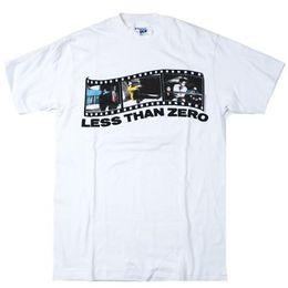 49ba90e9183 Vintage Less Than Zero T-Shirt 1987 Movie Promo Robert Downey Jr Los  Angeles colour jersey Print t shirt Short Sleeve Plus Size t-shirt