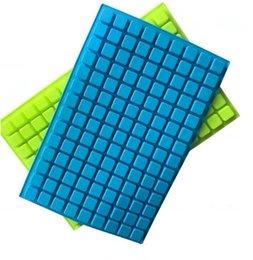 126 Cavity Ice Moldes ferramentas de e molde de silicone Doce Moldes para Bolo de Chocolate Cubo doce Ice Cube ferramentas Criador Bar KKA7778 em Promoção
