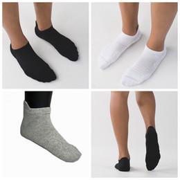 Boat slips online shopping - Unisex sport socks deodorant sweat absorbent breathable summer low shallow mouth cotton socks non slip boat socks LJJZ683