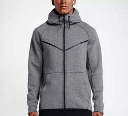$enCountryForm.capitalKeyWord Australia - 2017 new autumn winter Large size MEN'S HOODIE SPORTSWEAR TECH FLEECE WINDRUNNER fashion leisure sports jacket running fitness jacket coat