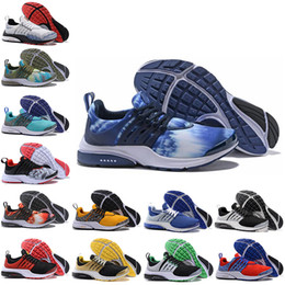 honey pack Australia - Presto Running Shoes Essential QS Safari Pack GPX Pine Green Oreo Olympic Race Blue Comet Red Brutal Honey Bred Greedy Sports Shoes 36-45