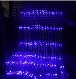 $enCountryForm.capitalKeyWord Australia - 3x3M 320 LED Waterfall Icicle Curtain LED String Fairy Light Christmas Water Flow Meteor Shower Rain String Light