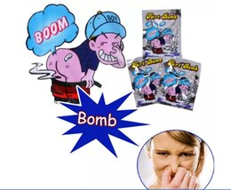 Stink Bombs Bags Australia - Wholesale Fart Bomb Bags Novelty Stink Bomb Smelly Funny Gags Practical Jokes Gadget Prank Gag Gift Free Delivery