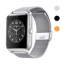 $enCountryForm.capitalKeyWord Australia - Z60 Bluetooth Smart Watch Full-Function Sync Smartwatch Women Men Kids Smart Wrist Watches For iOS Apple Android