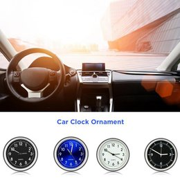 timepiece clocks Australia - Car Decoration Electronic Meter Car Clock Timepiece Auto Interior Ornament Automobiles Sticker Watch Interior In Accessories