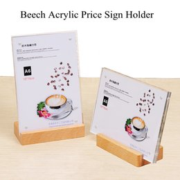 100*70mm Acrylic Clear Single Sheet Slant Back Design Sign Display Holder Stands Tabletop For Menu Pictures Flyer Promo Ads from dress stamps suppliers