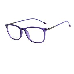 $enCountryForm.capitalKeyWord UK - Man Woman Fashion Optical Frame Super Thin Light TR90 Material Glasses Unique Metal Temples Free Shipping Eyewear R981