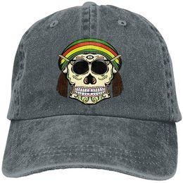 $enCountryForm.capitalKeyWord Australia - Skull Weird Dress Adult Cowboy Hat Baseball Cap Adjustable Athletic Personalised Custom Funniest Hat for Men and Women