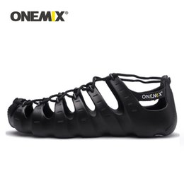 $enCountryForm.capitalKeyWord Australia - ONEMIX Men Women Casual Shoes Water Shoe Rome Style Outdoor Beach Sandals Wading Upstream Footwear Ultralight Lace-up Slippers