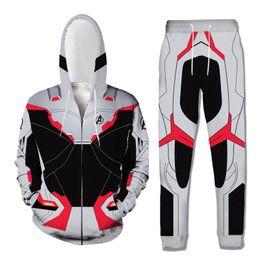 $enCountryForm.capitalKeyWord Australia - Men Track Suit Hooded Jacket Sweatsuit brand New Mens Sports Suits 3D Printed Tracksuit Plus size Male jogger set