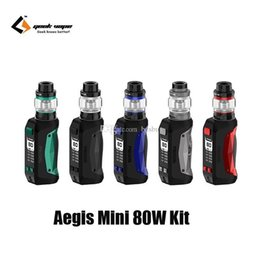 $enCountryForm.capitalKeyWord Australia - Authentic Geekvape Aegis Mini 80W Kit 2200mAh Battery E-Cigarette Vape TC Box Mod For Original Cerberus Sub-ohm Tank 100% Genuine