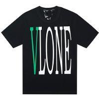 $enCountryForm.capitalKeyWord Australia - 18SS POP UP Tee Logo Green Letter Behind V-Fashion Trend Tee Black and White Short Sleeve T-Shirt S-XL SF3137