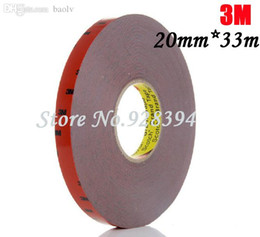 3m double sided foam tape online shopping - Roll mm m M For Auto Truck Car Sticker Acrylic Foam Double Sided Attachment Strong Adhesive Tape