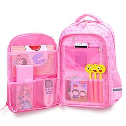 2019 nouveau Convient pour les sacs à dos d'école de 1 à 9 ans pour les adolescentes 2 taille Grande capacité voyage enfants sac à dos Sacs d'école pour enfants # 30942 en Solde