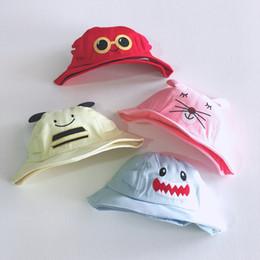 $enCountryForm.capitalKeyWord Australia - Kids Hat Baby Girl Cartoon Fisherman Hat Summer Outdoor Sunhat Boy Cotton Sun Hat Gift For Children 2019