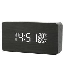 $enCountryForm.capitalKeyWord NZ - Large Digital Alarm Innovative LED Student Electronic Clock Snooze Sensor Kids Table Clock Bedroom Clock Night Light ZJ0363