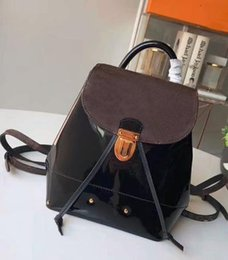ladies handbag fabric Australia - 2019 designer handbag ladies fashion women's shoulder bag shopping bag dhm1998 Black shoulder bag leather The New