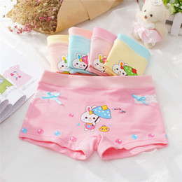 $enCountryForm.capitalKeyWord Australia - Kids Girls Underwear Cute Cartoon Printing Panties Children's Soft Cotton Underwear Random Delivery