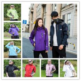 Acrylic Jackets Australia - Women Men N&F Jacket Softshell Windbreaker The North Coat Zipper Jackets Wind Stopper Designer Face Coats Outwear B2281