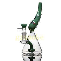 $enCountryForm.capitalKeyWord NZ - pickle bong and tornado disk smoking water pipe dab rig glass bong beaker percolator ash catcher pipe honey bucket free shipping