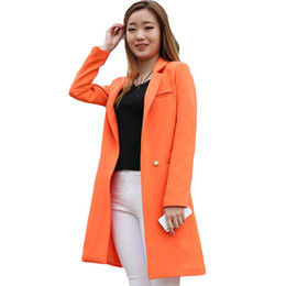 0bf0443b7d8 2019 New Spring Autumn Plus Size 3xl Women Blazers And Jackets Casual Long Women  Suits Solid Female Jacket Re0769