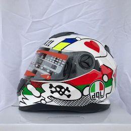 Para cascos online shopping - DGL brand Double Visors Motorcycle Helmet Women Cascos Para Flip Up Capacete Casque Capacete Full Face Racing Helmets
