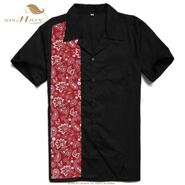 Wholesale SISHION Retro Floral Printed Man Casual Shirts ST110 Fashion Classic Men Dress Shirt Breathable Men s Short Sleeve