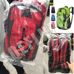 Laptop Travel Backpacks Australia - 2019 Outdoors packs Backpack Fashion knapsack Computer package Big Nylon Handbag Travel bag Sport&Outdoor Packs Laptop bag Schoolbag 40L