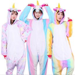 Adult Flannel Stitch Onesie Sleepwear For Winter Keep Warm Hoodies Pajamas  Soft Animal Unicorn Design Pyjamas Popular 34yn BB ad4918280