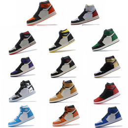 Union silver online shopping - High quality with original box OG all star New Chicago Crystal top Union Banned men Basketball Shoes Athletic Sneakers