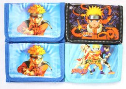 Naruto Coins Australia - Lot cartoon Naruto logo Coin Purses Mini Wallets Mix Lots Spiderman Character Children Kid Gifts Free shipping