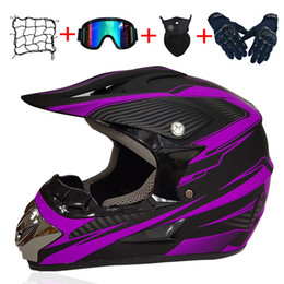 helmet full face NZ - Four Gift Motorcycle Helmet Accessories Motocross Full Face Helmet ATV Cross Helmets AM DH Cross Capacete