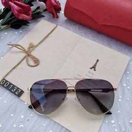 $enCountryForm.capitalKeyWord Australia - SELL fashion High Quality Classic L Pilot Sunglasses Brand Men Women Sun Glasses tom Eyewear Gold Metal Glass Lenses Case bag belt gg 00132