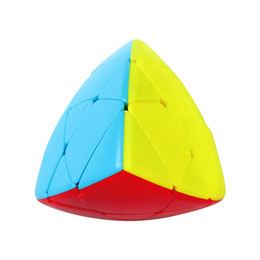 Magic Gifts Australia - Color box children education game Zongzi Magic Cube Specialshaped 3rdorder Triangle Magic Cube Dragon Boat Festival Gift