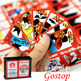 $enCountryForm.capitalKeyWord Australia - 2019 new Korean Japanese PVC Waterproof Mahjong Gostop Go Stop Board Game Cards Popular Family Party Table Game Go-stop Hanafuda cards