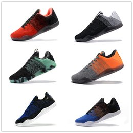 Kobe Shoes High Tops NZ - Men's shoes designer sneakers kobe wear-resistant low-top basketball shoes high quality men's mentality black wine red woven shoes 7-12 a11