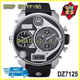 82091d45d4c2 Compre MOVIMIENTO DE JAPÓN 100% ORIGINAL Relojes De 4 Zonas Horarias  Analógicos De 50 Mm DZ7125 DZ7127 DZ7193 DZ7221 DZ7234 DZ7261 DZ7266 A   57.87 Del ...