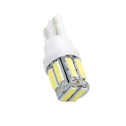 led bulb 2825 NZ - White Led T10 7014 10SMD 7020 T10 W5W LED Bulbs 194 168 2825 Wedge Replacement Lights Side Lights Interior Light