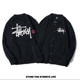 Cool Sweatshirt Jackets Australia - Top Brand Stuss mens jackets Cool polo Hoodie autumn winter jacket for woman Sweatshirts casual with a hood sport coats mens hoodies