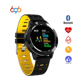 Discount android smart watch for woman - 696 CF58 Smart Watch Men Women Blood Pressure Heart Rate Monitor IP67 Waterproof Swim Tracker 2018 Smartwatch for IOS An