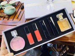 $enCountryForm.capitalKeyWord Australia - 6 in 1 perfume Lipstick Perfume for Women Lipsticks 6 pcs set Fragrance spray Makeup Cologne Set
