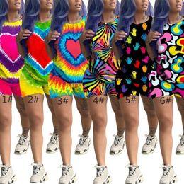 $enCountryForm.capitalKeyWord Australia - Womens sportswear t shirt hoodie T-shirt pullover short legging womens clothing short trousers fashion print sportsuit klw1714