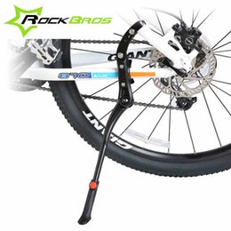 $enCountryForm.capitalKeyWord Australia - ROCKBROS 24'-29'' Adjustable Aluminum MTB Road Bike Mountain Cycling Bicycle Bicicleta Side Stick Stand Kickstand Accessories #593117
