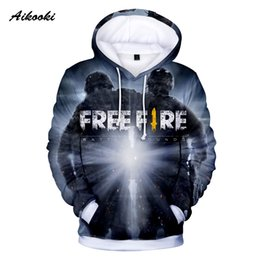$enCountryForm.capitalKeyWord Australia - Aikooki New Free Fire Shooting Game 3D Hoodies Mens Fashion Men Hoodie Sweatshirts Warm Long Sleeve Cap Hoody Hooded Polluvers
